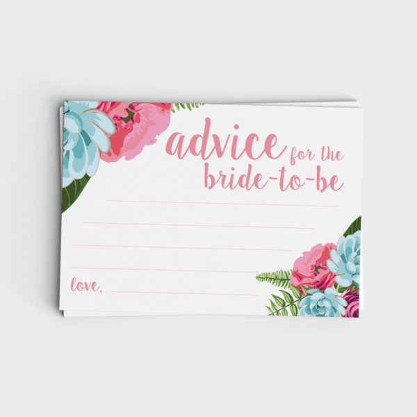Advice for the Bride-to