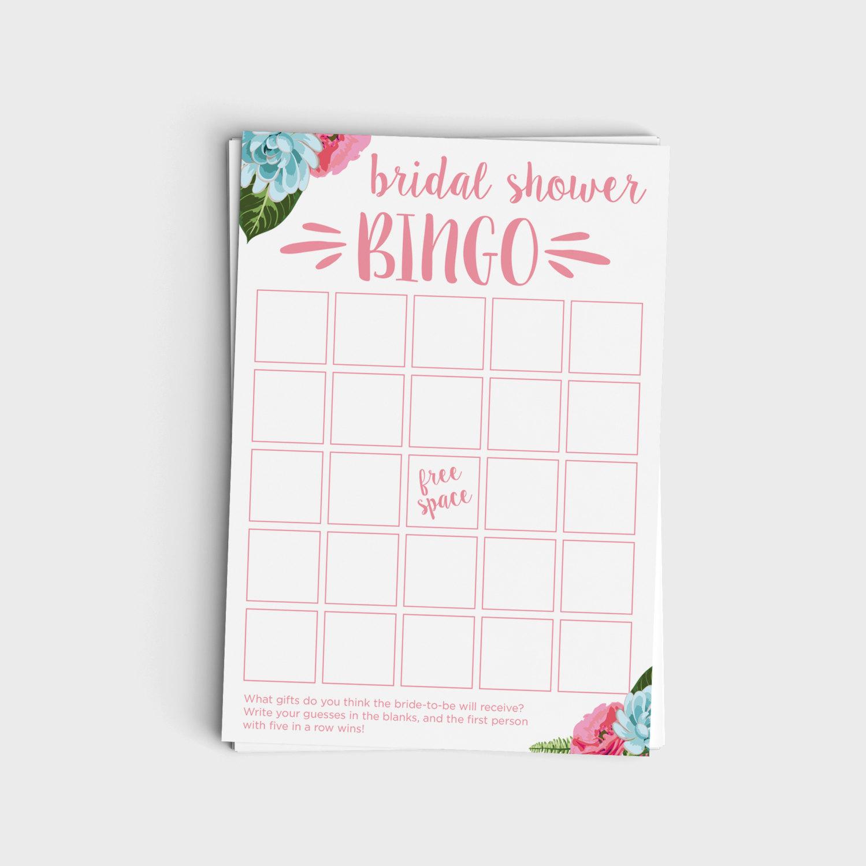 Bingo - Pink Floral