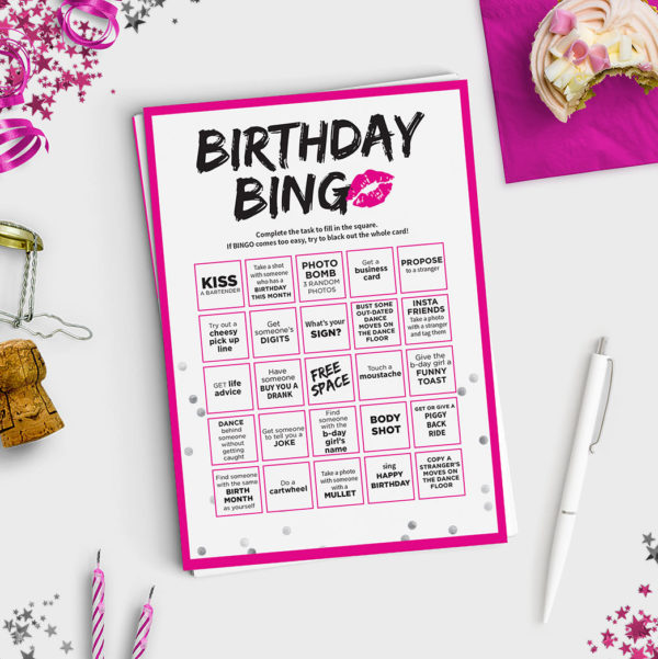 Fun R-Rated Adult Birthday Game