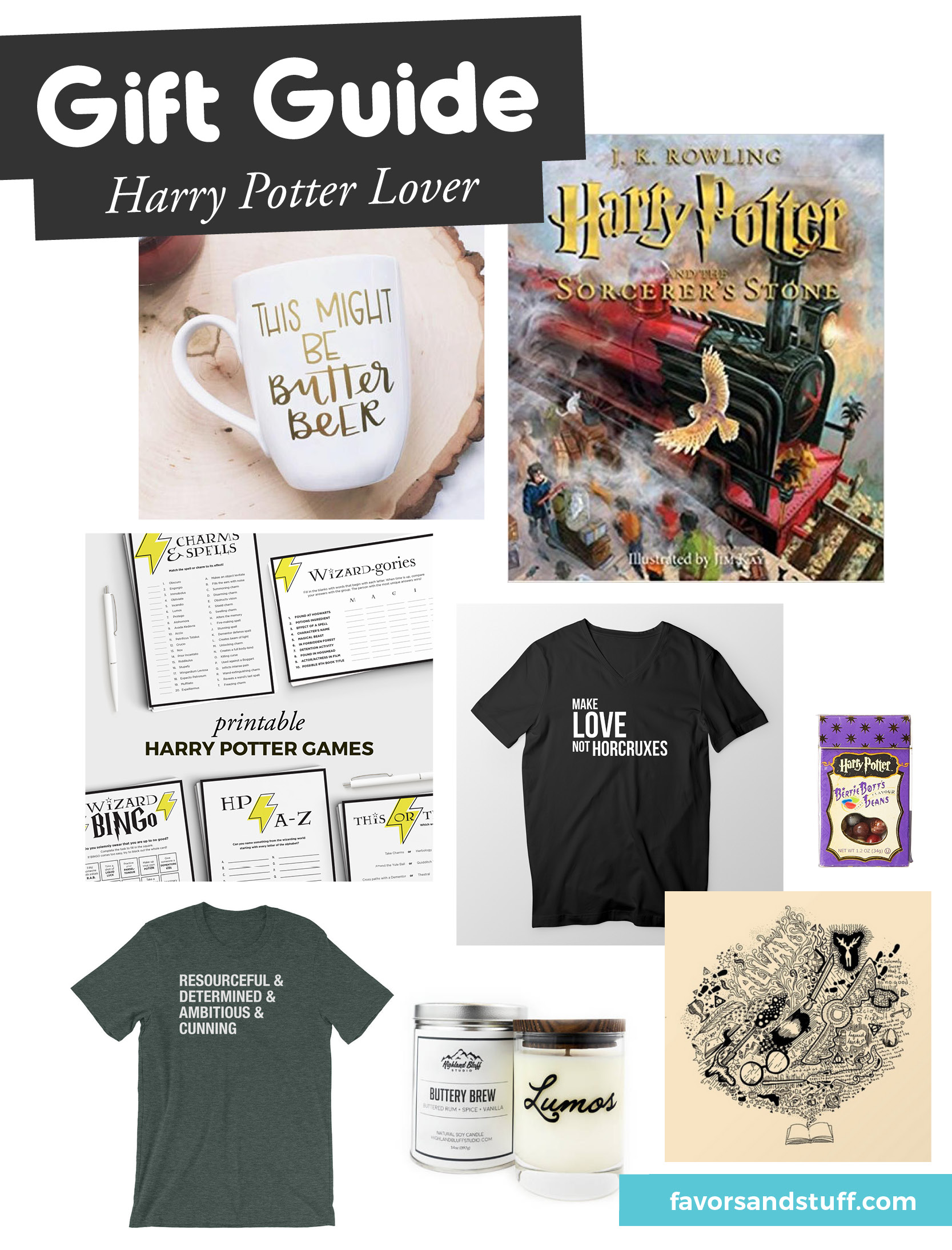 8 gift ideas for Harry Potter lovers