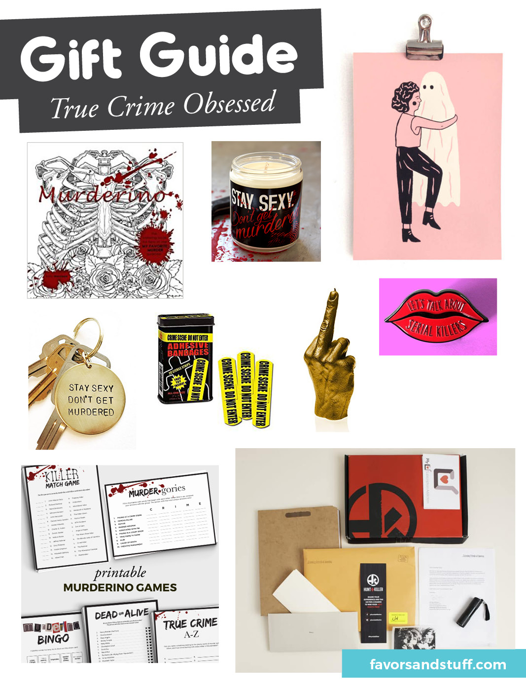 9 Gift Ideas for True Crime Lovers