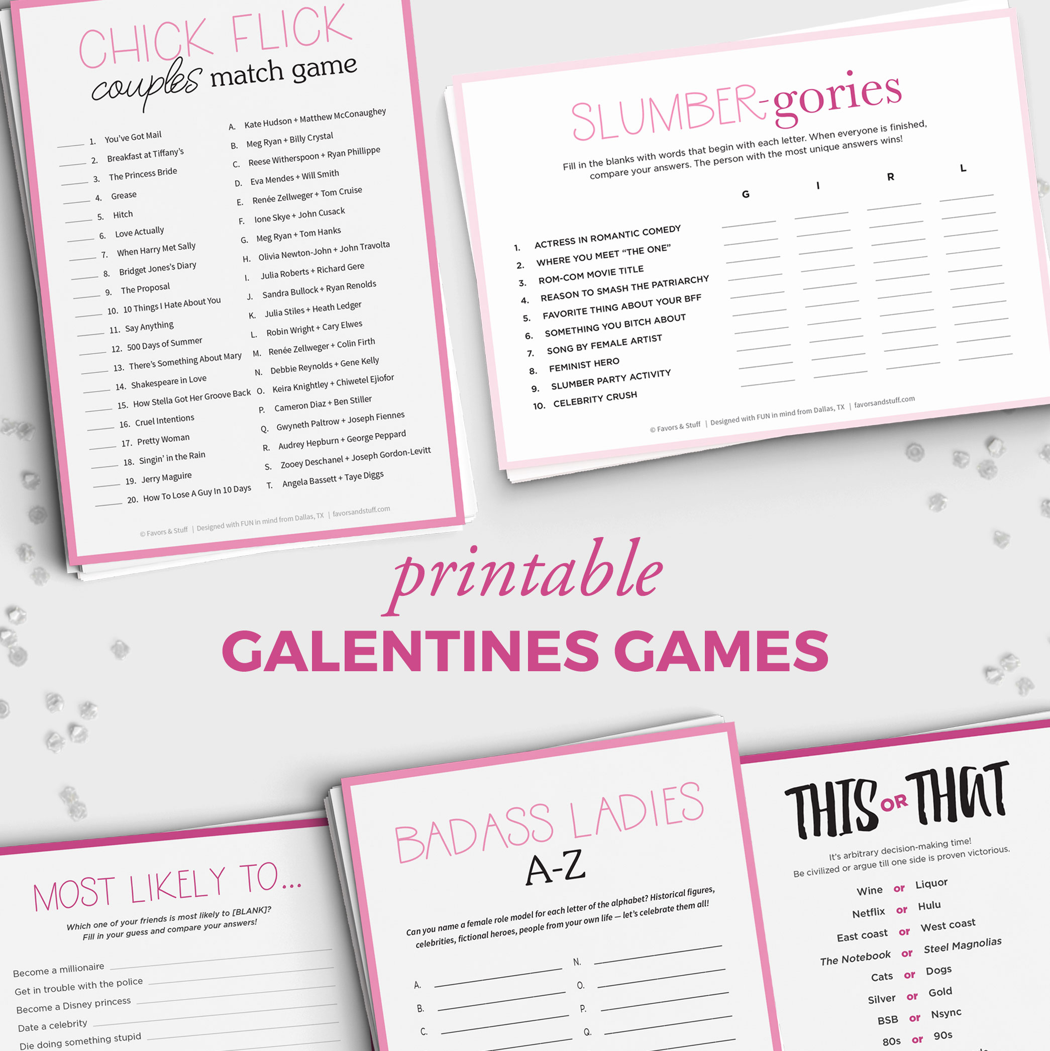 Galentines - Celebrating Women and Female Friendships ...
