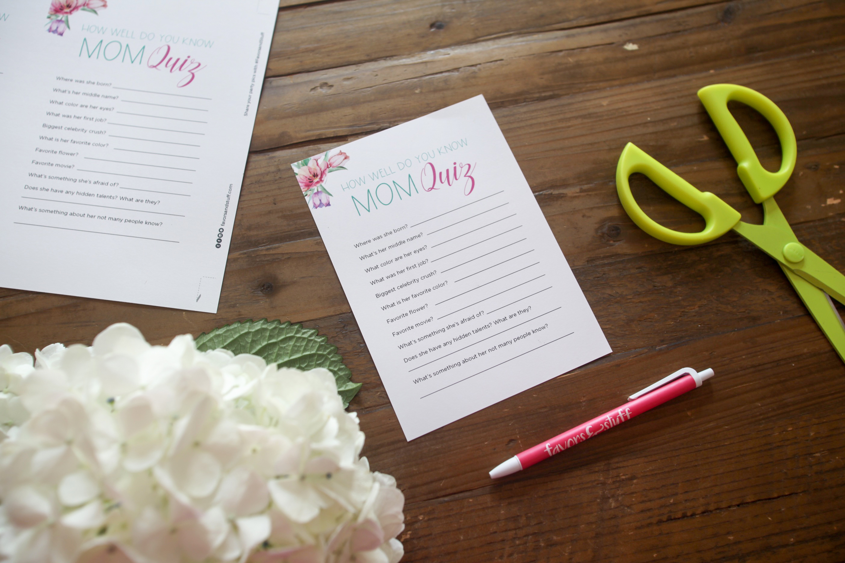 5 Printable Mother's Day activities to celebrate Mom