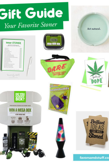9 Gift ideas for your favorite stoner