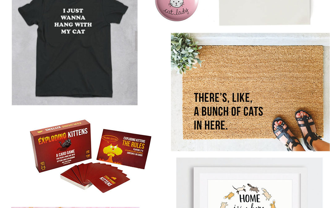 7 gift ideas for modern cat ladies